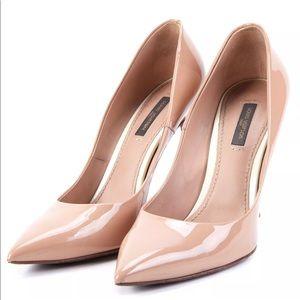 Louis Vuitton Eyeline Patent Leather Pump Pink 8